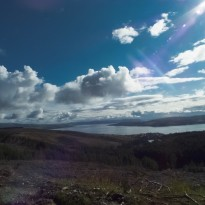 View over dunoon