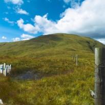 Final climb to Cruach nan Capull.