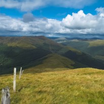 Mid Hill to Cruach Neuran
