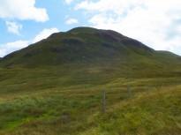 Looking back to summitof Cruach nan Capull.