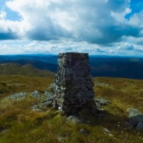 Cruach Neuran Summit